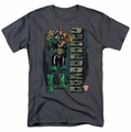Judge Dredd t-shirt Blam mens charcoal