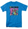 Judge Dredd t-shirt Fenced mens turquoise