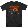 Judge Dredd t-shirt Through Fire mens black