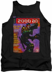 Judge Dredd tank top 1067 mens black