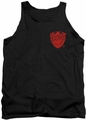 Judge Dredd tank top Badge mens black