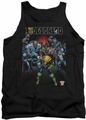 Judge Dredd tank top Behind You mens black