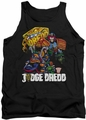 Judge Dredd tank top Bike And Badge mens black