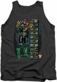 Judge Dredd tank top Blam mens charcoal