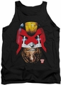 Judge Dredd tank top Dredd's Head mens black