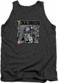Judge Dredd tank top Fenced mens charcoal
