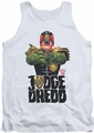 Judge Dredd tank top In My Sights mens white