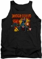 Judge Dredd tank top Through Fire mens black
