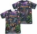 Jurassic Park mens full sublimation t-shirt Welcome To The Park