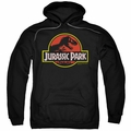 Jurassic Park pull-over hoodie Classic Logo adult black