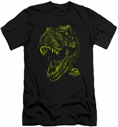 Jurassic Park slim-fit t-shirt Rex Mount mens black