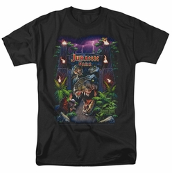 Jurassic Park t-shirt Welcome To The Park mens black