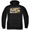 Justice Leage pull-over hoodie Cinematic League adult black