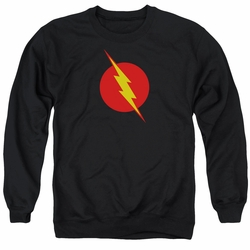 Justice League adult crewneck sweatshirt Reverse Flash black