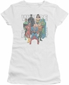 Justice League juniors t-shirt Classified #1 Cover white