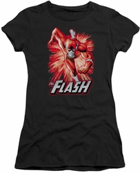 Justice League juniors t-shirt Flash Red & Gray black
