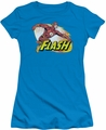 Justice League juniors t-shirt Flash Zoom turquoise