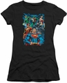 Justice League juniors t-shirt Justice Is Served black