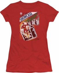 Justice League juniors t-shirt Showcase #4 Cover red