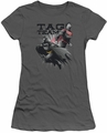 Justice League juniors t-shirt Tag Team charcoal