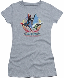 Justice League juniors t-shirt Team Power heather
