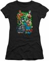 Justice League juniors t-shirt Will Power black