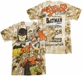 Justice League mens full sublimation t-shirt All Stars