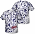 Justice League mens full sublimation t-shirt Justice All Around