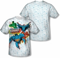 Justice League mens full sublimation t-shirt Off Register