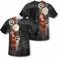 Justice League mens full sublimation t-shirt Oh The Urbanity