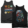 Justice League of America Mens Tank Tops