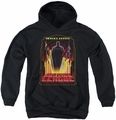 Justice League of America youth teen hoodie Heroes United black