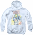 Justice League of America youth teen hoodie Justice League #1 Cover white