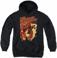 Justice League of America youth teen hoodie Scarlet Speedster black
