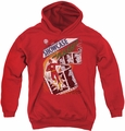 Justice League of America youth teen hoodie Showcase #4 Cover red