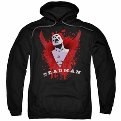 Justice League pull-over hoodie Deadman Possession adult Black