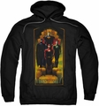 Justice League pull-over hoodie Deco adult black