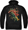 The Flash pull-over hoodie Electric Death adult black