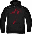 Justice League pull-over hoodie Flash Darkness adult black
