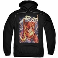 Justice League pull-over hoodie Flash One adult Black