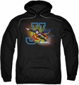 Justice League pull-over hoodie Heroes United adult black