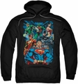 Justice League pull-over hoodie Justice Is Served adult black