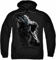 Justice League pull-over hoodie Lighting Crashes adult black