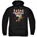 Justice League pull-over hoodie Roll Call adult black
