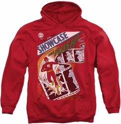 Flash pull-over hoodie Showcase #4 Cover adult red