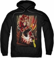 The Flash pull-over hoodie Street Speed adult black