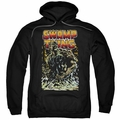 Justice League pull-over hoodie Swamp Thing adult Black