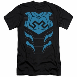 Justice League slim-fit t-shirt Blue Beetle mens black