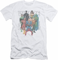 Justice League slim-fit t-shirt Classified #1 Cover mens white