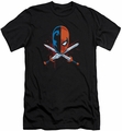Deathstroke slim-fit t-shirt Crossed Swords mens black